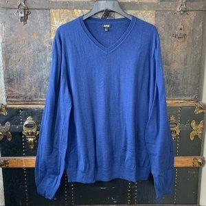 Blue Apt.9 XL Mens Sweater